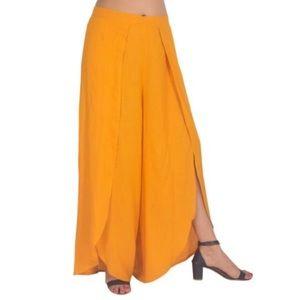 Drew Mustard Tulip Pants